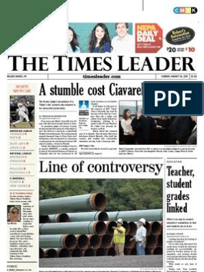 Times Leader 08-14-2011 | Pipeline Transport
