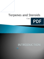 Terpenes and Steroids