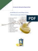 Dossier Cura Sirope Savia Arce