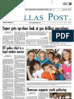 The Dallas Post 08-14-2011
