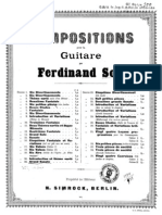 Fernando Sor, op.22 - Grande sonate