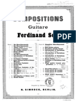 Fernando Sor, op.24 - Huit petites pièces