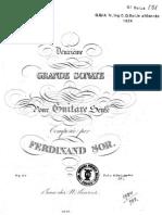 Fernando Sor, op.25 - Deuxième grande sonate