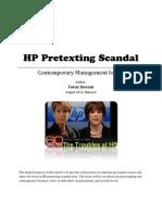 HP Pretexting Scandal