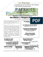 Le Patriote -Journal- nº4, Septembre 2005