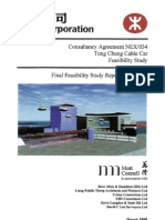 Feasibility Study Tung Chung Cable Car (Enginnering Part in SEction 8)