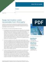 Alert Derivatives Swap Terminations Costs