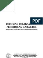 Pedoman Pelaksanaan Pendidikan Karakter