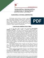 Istorija Arhitekture 1 - a i Romanicka Arhitektura u Nemackoj
