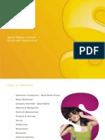 Spice Digital Presentation