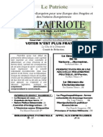 Le Patriote-Journal-nº9 Mars- Avril 2007