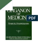 58094798 Organon of Medicine Samuel Hahnemann