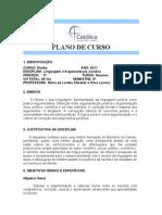 Plano de Curso - 2 Direito - 2-8-2011