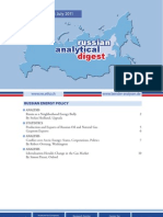 Russian Analytical Digest 100