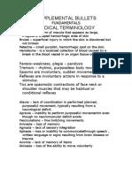 Fundamentals Terminologies