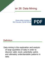 Ch26-DataMining