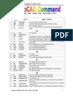 AutoCAD Command - 2007