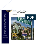 FBI - 2010 Mortgage Fraud Report, Year in Review, August 2011