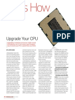 how to upgrate your cpu