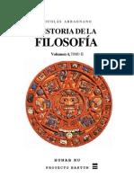 Abbagnano Nicolas Historia Filosofia Vol 4 Tomo II
