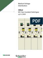 MV Distribution - GMSet (MV GIS) CB