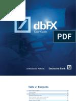 DbFX Trading Station User Guide