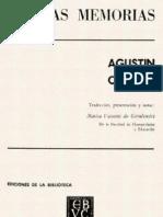 Agustín Codazzi- Las Memorias