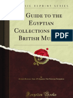 A Guide to the Egyptian Collections in the British Museum - 9781451003901