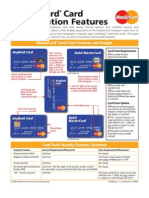 10862 Master Card Card Identification Features
