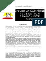 Oser Et Comp Rend Re La Pensee Libertaire