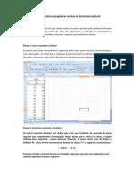 Roteiro prático para plotar pontos no AutoCad via Excel