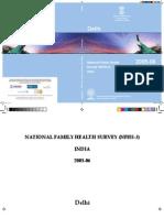 Nfhs 2005-06 Delhi