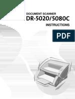 DR-5080C Instruction Manual