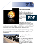 Global Climate Change and Cafos