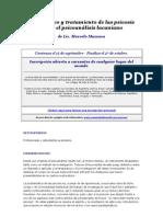 Diagnóstico y tratamiento de las psicosis desde el psicoanálisis lacaniano