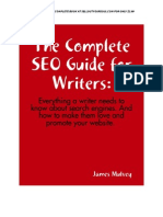 SEO Guide For Writers Sample Chapter