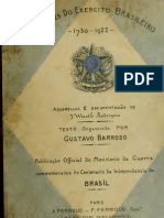 (1922) Uniformes do Exercito Brasiliero 1730-1922