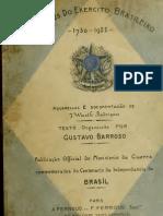 (1922) Uniformes do Exercito Brasiliero 1730-1922