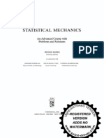 Kubo - Statistical Mechanics