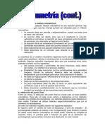 Requisitos para los análisis volumétricos