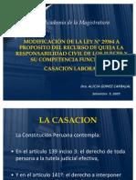 Alicia Gomez Casacion Laboral