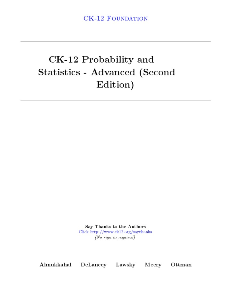 Probability and statistics advanced second edition level of probability and statistics advanced second edition level of measurement mean fandeluxe Gallery