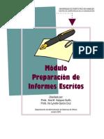 Manual Para Hacer Informes Escritos