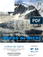 Copos de Nieve Nro 33 Agosto 2011
