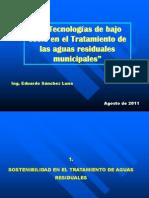 Tecnologias de Bajo Costo PTAR