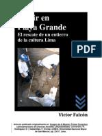 Morir en Playa Grande