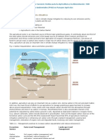 PES - Role of Agriculture