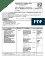 plan de evaluación ética I