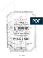 Cesari Pietro Fantasia Sul Trovatore for Viola and Piano