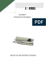 58-C0181-N Manual - Esclerómetro